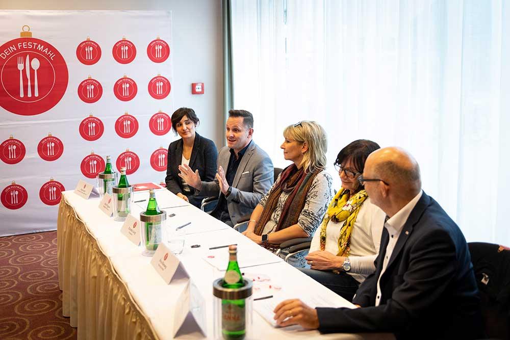 """Pressekonferenz zu """"Dein Festmahl"""" 2019"""